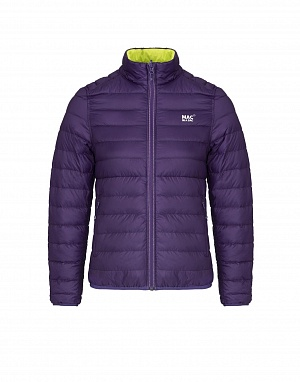 Polar down jacket пуховик Grapel/Lime (фиолет/зеленый)