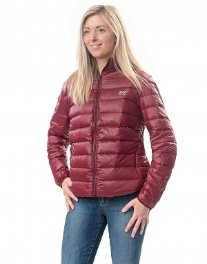 Polar down jacket Claret (бордовый)