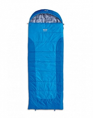 PINGUIN Blizzard Wide 190 L blue спальный мешок