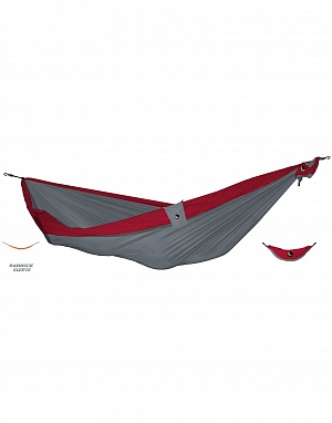 Гамак KingSize (Light Grey-Burgundy)