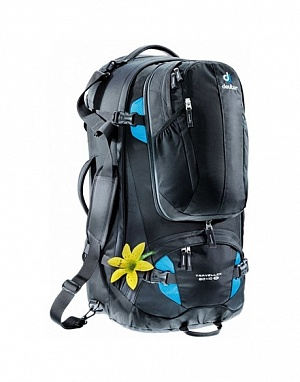 Рюкзак Deuter 2017-18 Traveller 60 + 10 SL black-turquoise