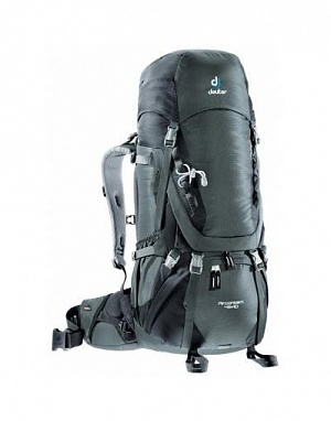 Рюкзак Deuter 2017-18 Aircontact 45 + 10 granite-black