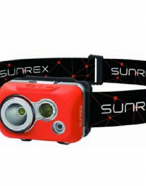YoudoX (red) waterproof headlamp фонарь налобный